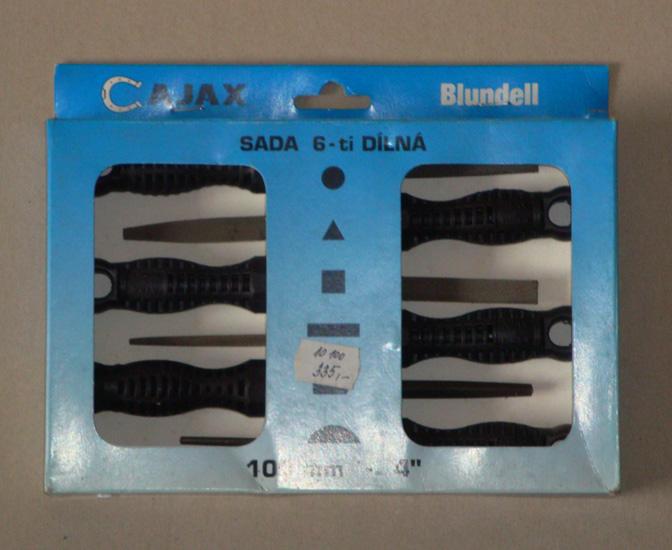 Image of VÝPRODEJ - AJAX & BLUNDELL Sada klíčových pilníků 100/2 6-dílná